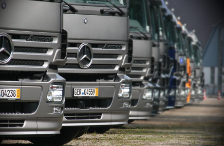 Mercedes Benz Transportdagen